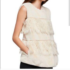 Gorgeous BCBG Faux Fur Vest
